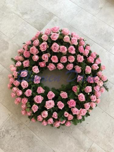 Rosen voll rosa
