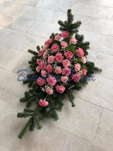 Nelken Bukett Mittel Rosa
